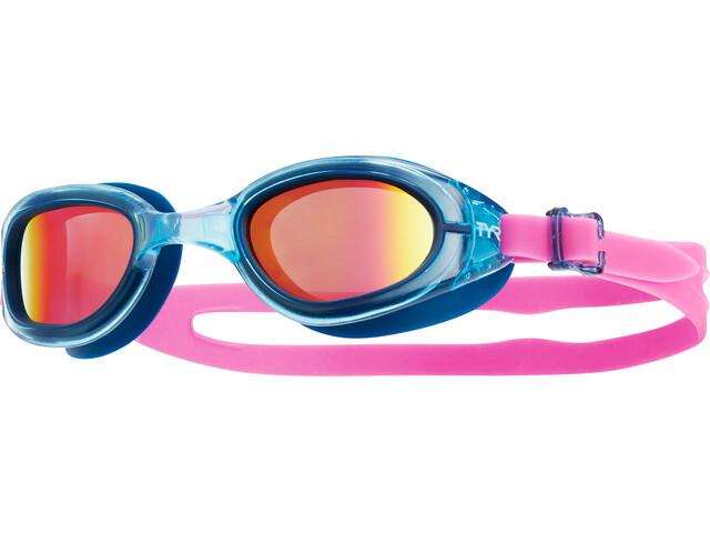 TYR Special Ops 2.0 duikbrillen Dames Polarized roze/blauw